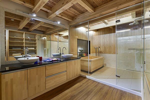 傳統的木造工法,結合現代化的設計,風格多元。(圖:鈴木健康綠營造提供)