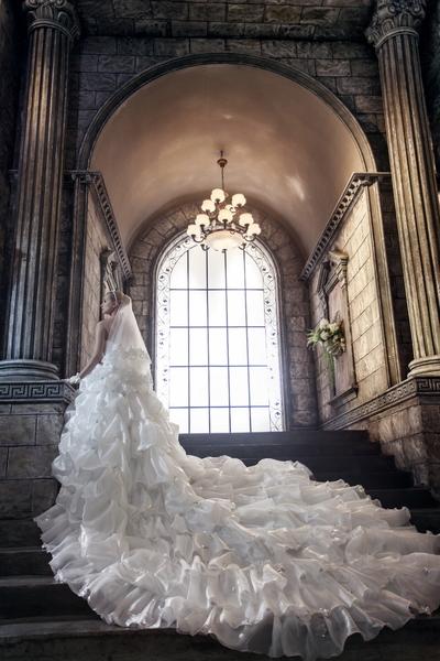愛度婚紗旗艦店,歐式風格的室內設計。(圖:東北西南提供)