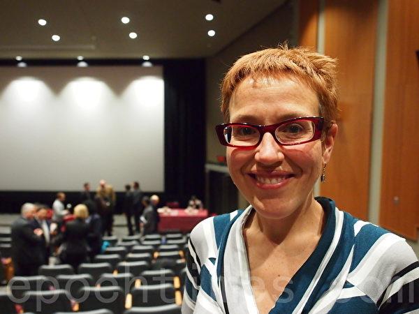 蒙特利爾Notre-Dame醫院著名的腎科醫生和腎臟移植專家瑪麗-尚德 蘭‧福汀(Marie-Chantal Fortin)參加了論壇,她非常不建議患者去中國接受腎臟移植(Nathalie Dieul/大紀元)