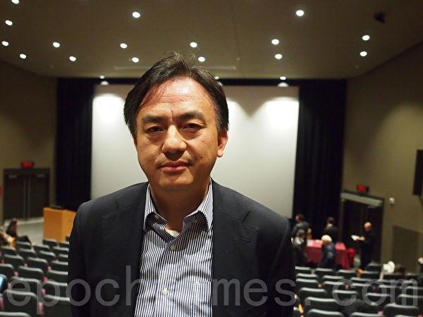 現居蒙特利爾的法輪功學員王曉華,曾經被關在中國的勞教所,在那裡接受過為摘取器官而進行的體檢。 (Nathalie Dieul/大紀元)
