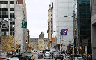 加拿大首都国会山发生枪击案 一士兵中弹身亡