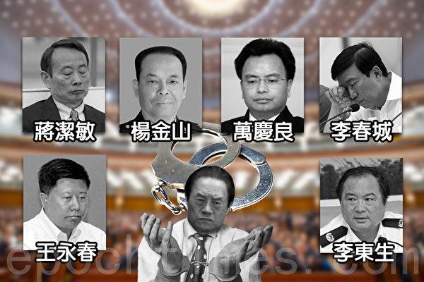 四中全会结束 开除6高官党籍 未提周永康