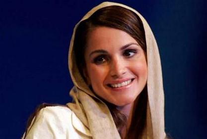 拉尼婭王后改變全世界對阿拉伯女性的種種成見,被譽為世界上最美麗的王后。(法新社)