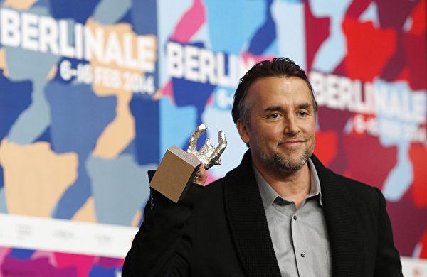 柏林影展最佳导演理查德•林克莱特。(DAVID GANNON/AFP/Getty Images)
