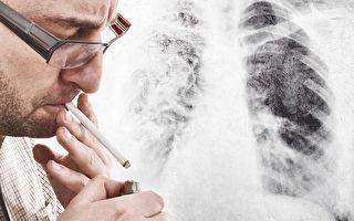 美國疾病控制與預防中心(CDC)表示,美國成人吸菸率從2005年的21%降至2013年的17.8%,創50年來新低。圖為一名男子吸煙香煙。(fotolia)