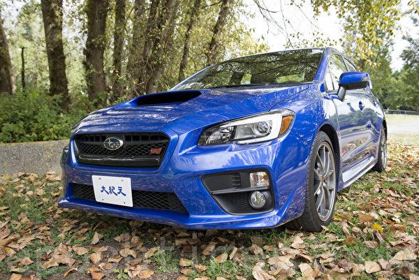 2015 Subaru WRX STI。(大宇/大纪元)