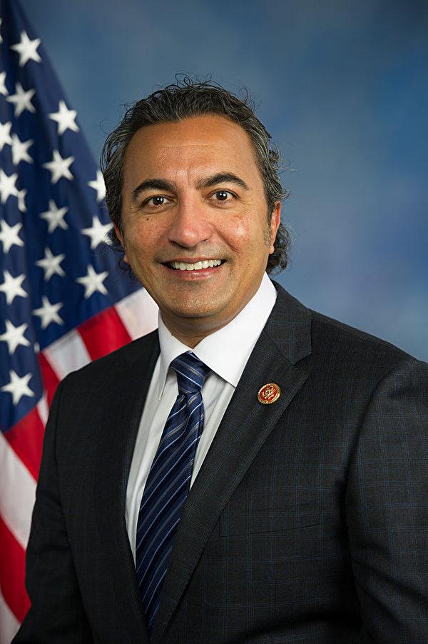 加利福尼亚州(California)的联邦众议员艾米‧贝拉(Ami Bera)(维基百科)