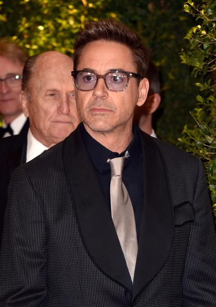 《法官老爹》男主角小羅伯特·唐尼和羅伯特·杜瓦爾(後)。(Frazer Harrison/Getty Images)