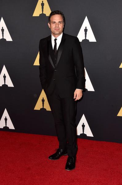 美國影星馬克·魯法洛。(Frazer Harrison/Getty Images)