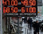 尽管俄罗斯央行今年以来耗资数百亿美元外汇阻止卢布下跌,但卢布仍然在11月7日创出历史新低。11月10日,俄罗斯央行决定若汇率继续走低,将不考虑使用外汇干预汇率,实现卢布自由浮动。(VASILY MAXIMOV/AFP/Getty Images)