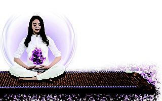 养生紫水晶床垫吸引华人