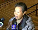 刘枫凌在判决后接受记者采访。(杜国辉/大纪元)