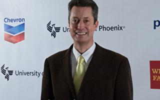 CleanTech Open的执行长诺顿(Rex Northen)(屈婧/大纪元)