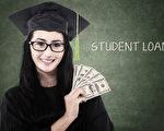 据统计,美国有6个州的学生人均学贷超过3万美元,只有一个州该金额低于两万美元。(fotolia)