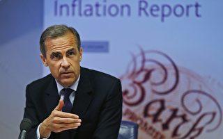 英国央行周四决议调降主要放款利率,由0.5%调降至0.25%,为逾七年来首度降息。图为行长卡尼。(LEFTERIS PITARAKIS/AFP/Getty Images)