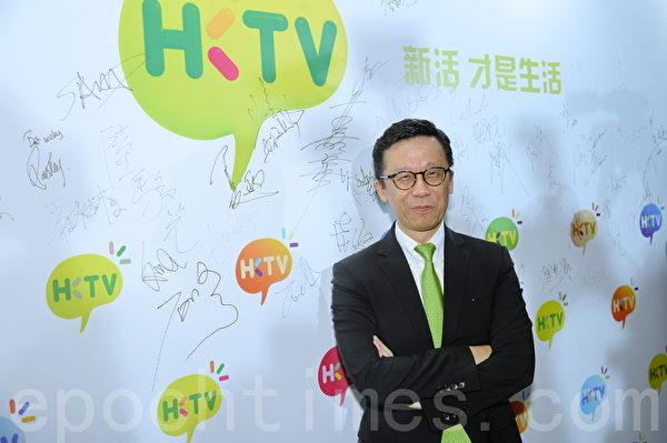 香港電視網絡有限公司創辦人王維基先生。(宋祥龍/大紀元)