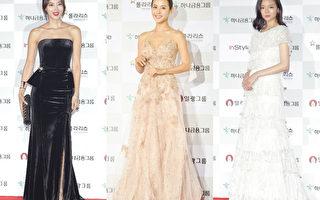 韩国第51届大钟赏电影节颁奖典礼红毯。(Getty Images/大纪元合成)