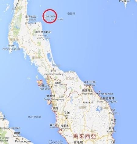 朱瑟里诺已于3月11日去信马来西亚驻港领事馆,提供有可能寻回飞机残骸的位置。地图(红圈)展示了有可能寻回残骸的位置,希望有关当局尝试往该处找寻失踪者。(图片来自朱瑟里诺的官方facebook)