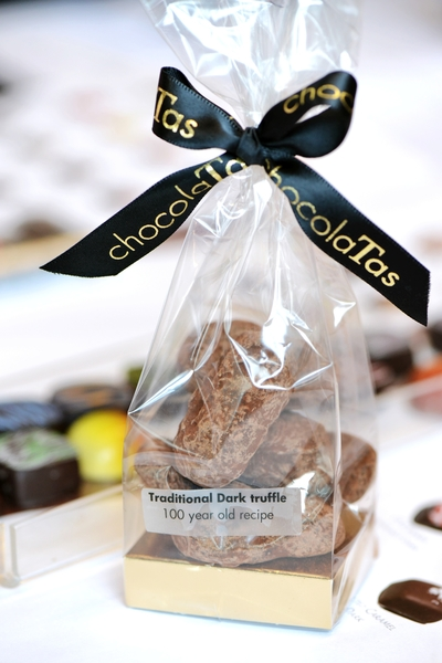 ChocolaTas创造出全新的口味,从未想到过的新奇巧克力搭配。 (景浩/大纪元)