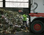 舊金山的一個垃圾處理設施。(Getty)