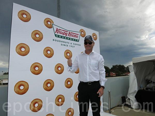 Krispy Kreme亞太區副總裁。(高敏/大紀元)