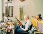 "由Max Ferguson创作的《小提琴修理店》""Violin Repair Shop""。(图片由Max Ferguson提供)"