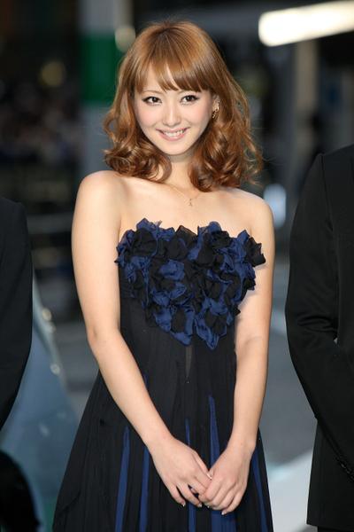 女星佐佐木希居百大美女榜第43名。(Junko Kimura/Getty Images)