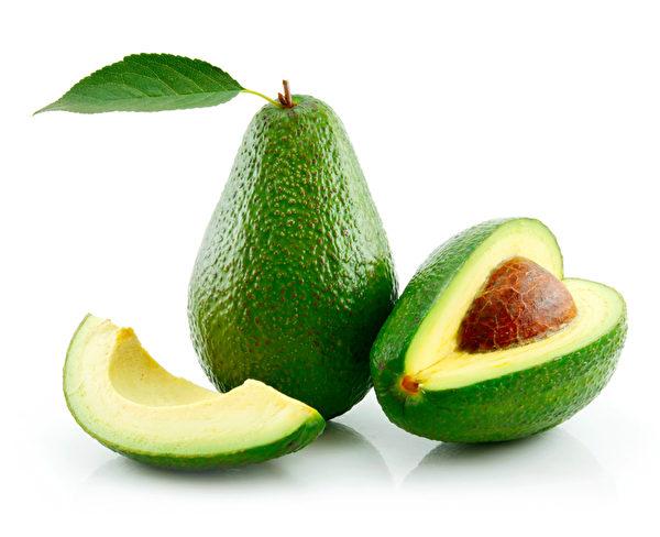 酪梨可說是消脹氣最有效的食品之一,酪梨含有鉀,可幫助鈉離子排出,減少脹氣。(Fotolia)
