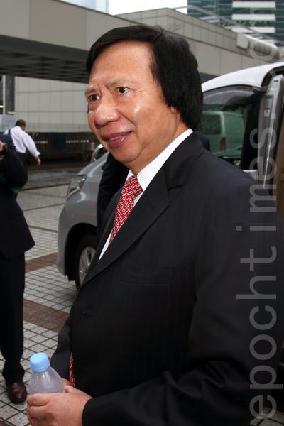 涉及香港四大發展商之一,新鴻基地產聯席主席郭氏兄弟及前政務司長許仕仁的涉貪案轟動全港,被視為「世紀貪污案」,備受國際關注,涉及訴訟費數以億計。圖為:新鴻基地產聯席主席郭炳江。(潘在殊/大紀元)