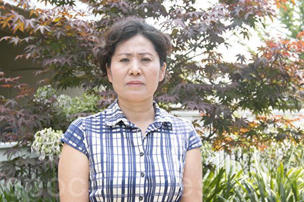 2014年08月05日,高智晟的妻子耿和在舊金山灣區家中接受了大紀元獨家採訪。(馬有志/大紀元)