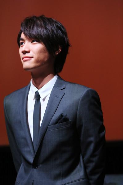 福士苍汰参加2014年罗马电影节资料照。(Ernesto Ruscio/Getty Images)