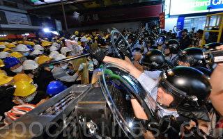 雨伞运动后 港青年对警察满意度直下80点