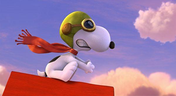 《史努比》3D動畫片劇照。(福斯影片提供)