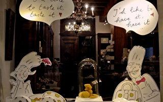 組圖:比利時巧克力聖誕櫥窗秀
