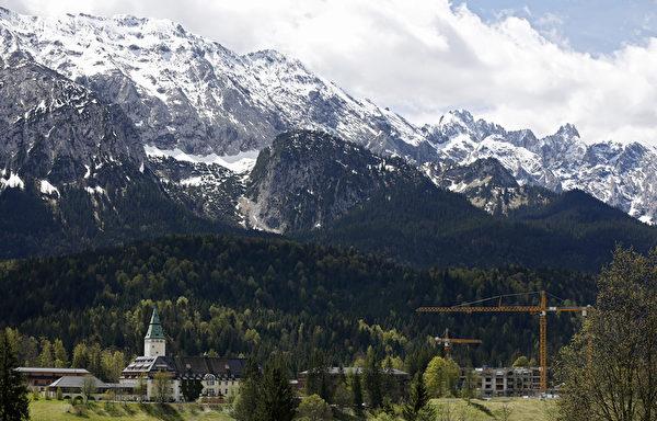 德国巴伐利亚阿尔卑斯山温泉酒店(Philipp Guelland/Getty Images)