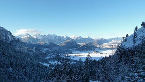 奥德边境的阿尔卑斯山区(pixabay)