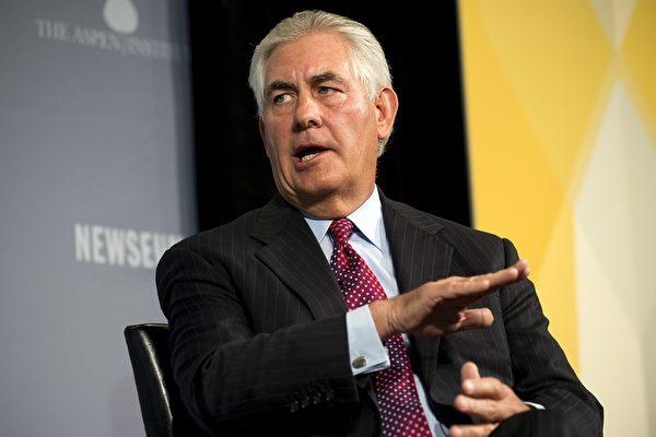 美國國務院週三(5日)宣布國務卿蒂勒森(Rex Tillerson)將在下週出訪俄羅斯,敘利亞問題或是重要議題之一。(JIM WATSON/AFP/Getty Images)