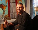 西班牙画家皮卡特(Gabriel Picart)。(Gabriel Picart提供)