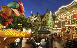 全城50钟齐鸣 法兰克福圣诞市场开张