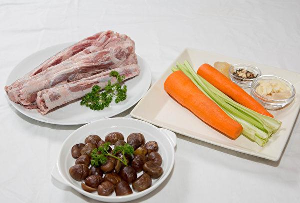 栗子胡蘿蔔炆牛尾(西米/大紀元)