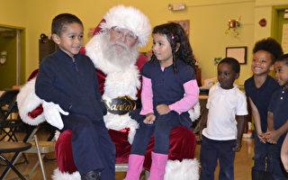 圣诞老人给旧金山孩子的超级惊喜