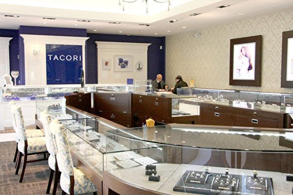 长岛H.L. Gross & Bro Jewelers珠宝店已有百年历史。(孙华/大纪元)