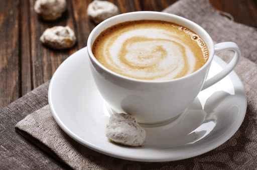 花式咖啡卡布奇诺。(fotolia)