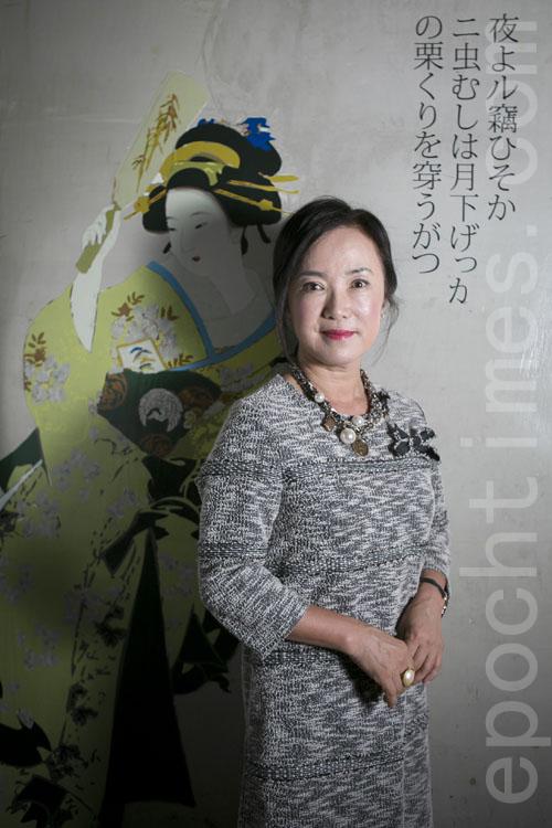 「HanaMichi」老闆Sophia Lee(李善慧)女士。(張學慧/大紀元)