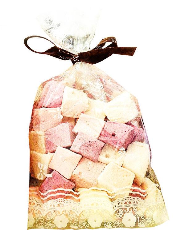 Exquise Patisserie的招牌果味棉花糖,是用纯正水果泥做出的,而且口感非常绵软,入口即化。(Exquise Patisserie提供)