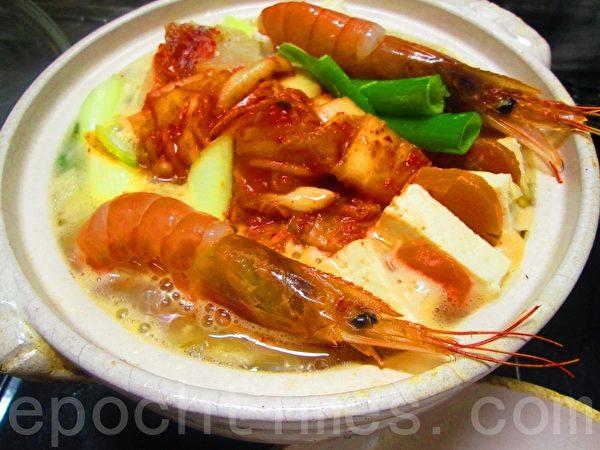 海鲜味噌火锅 图2(家和/大纪元)