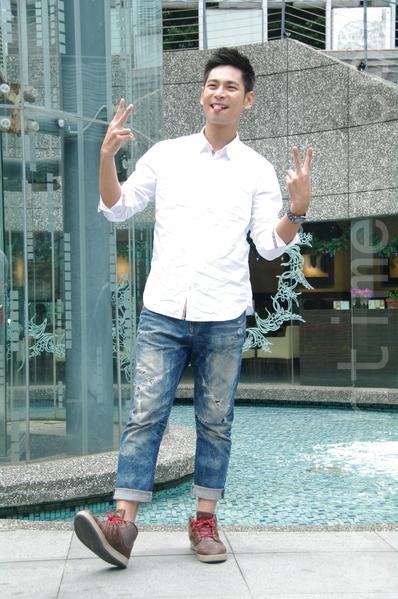 台视《雨后骄阳》于2014年12月18日在台北办理媒体见面会。图为杨子仪。(黄宗茂/大纪元)