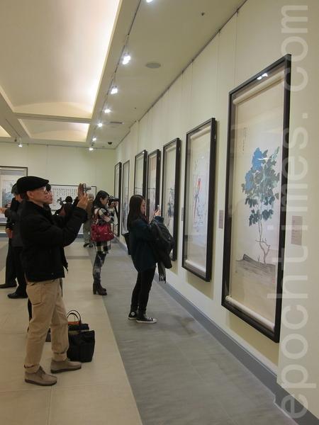 《迁想妙得─中国近现代书画撷萃》12月20日起在台湾国立国父纪念馆中山国家画廊盛大展出。(钟元/大纪元)