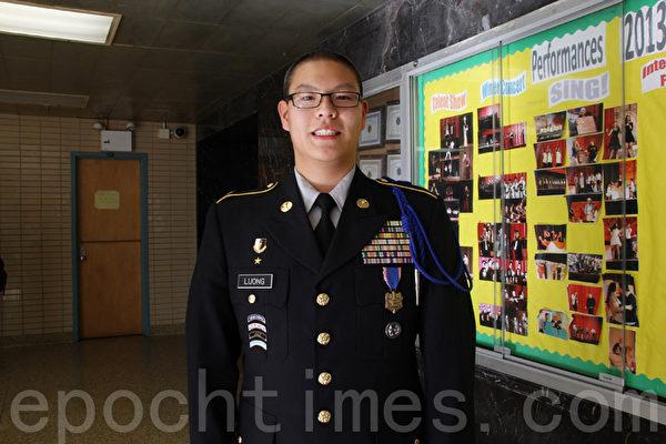17岁的Kevin Luong。(王依澜/大纪元)