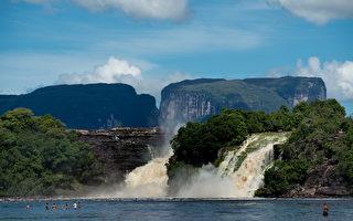 组图:委内瑞拉卡奈玛国家公园独特景观